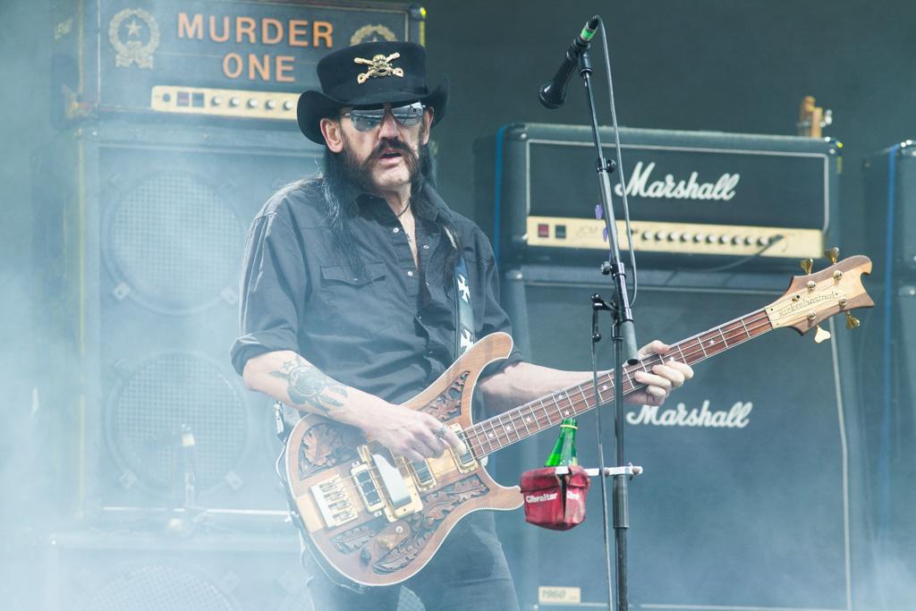 Lemmy of Motorhead at Glastonbury