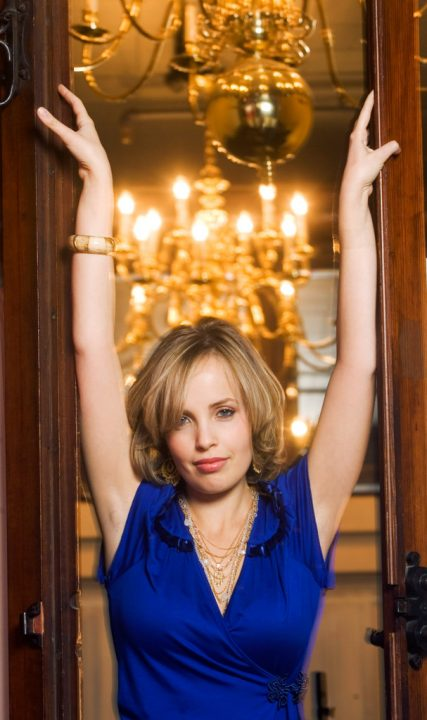 Russian born singer Sophie Milman