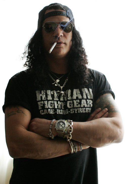 Rock star Slash from Guns N' Roses