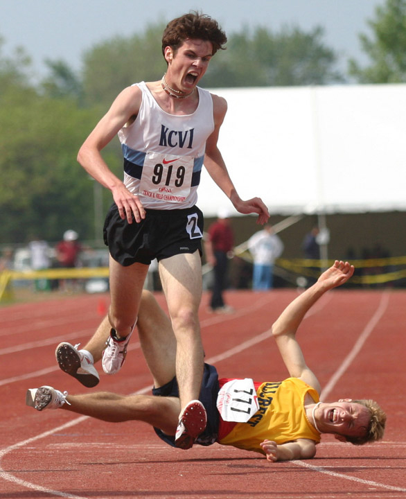 School track and field fall